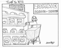 zombies shop by timetokillcomics