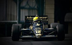 Ayrton Senna Wallpaper Lotus 1 by JohnnySlowhand
