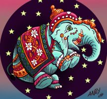 Cosmic Elephant by Wonderwig