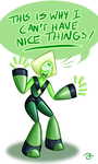 Angry Peridot by BeckHop