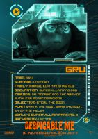 Gru Poster - Despicable Me by Alecx8