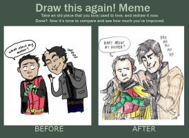 Before and After Meme by Microbluefish