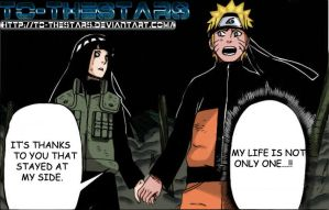 Naruto and Hinata Chapter 615 - Colored by To-TheStars