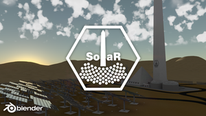 [Blender] College Project - Solar Tower Animation by Thorinair