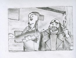 Jay and Silent Bob - Original by darthy13