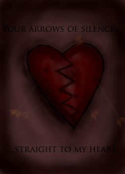 Your silence is deadly by BrushedInRed