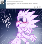 Ask Life of a Scourge - Shipped, Mohawk's Reaction by LoaS-ScourgeTH