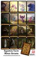 My Little Pony Minor Arcana Royal Court Tarot Card by SouthParkTaoist