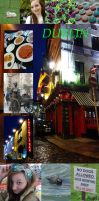 Holidays in Dublin Ireland ~ Collage by M-I-D-S