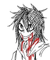 Jeff The Killer by Blueberrybananas06