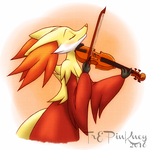 Strings of Solitude by Burning-Wolf-Promise