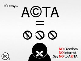 Say NO to ACTA by leozerosty
