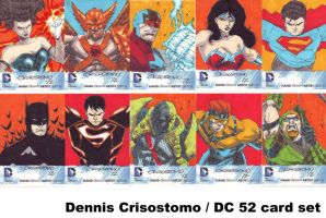 DC 52 cards by denart