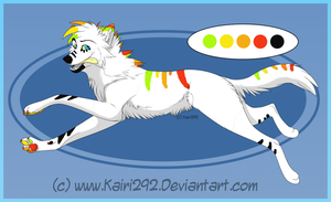 Wolf Adopt 23 -SOLD- by DemoniaTheGuardian