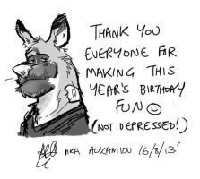 Thank You! by aokamidu