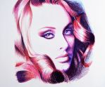 Adele -- Faber castell polychromos by f-a-d-i-l