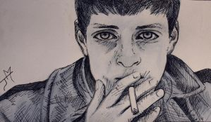 Ian Curtis by Numbaholic13
