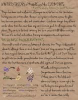 Unified Theory of Magic and the Elements, pg1 by furballofthefullmoon