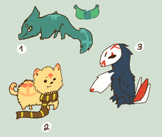 Random Adopts (CLOSED) by catmas