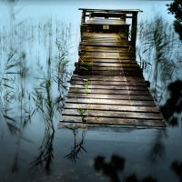 The blue pond 2... by ChristineAmat