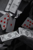 playing cards in a cut. by Matt-Insane