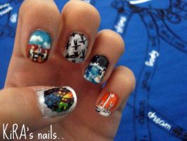 MUSE inspired nails by KiraSTFD