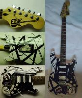 My tribute to Eddie Van Halen guitar! by lryvan