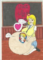 Lucy and link love vore by snoup77