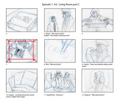 Storyboards for RA ep1 ending2 by Elorviel