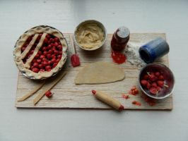 Cherry Pie Prep Board 3 by sonickingscrewdriver