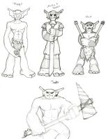 Goblins of the Unnamed 13 by Myndtwitch
