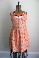 Sox The Fox Dress by J-R-Creations