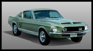 1968 Shelby GT500 by JayWestcott