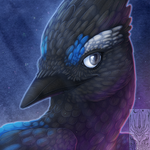 Icon Comish - Twilit Feathers by TwilightSaint