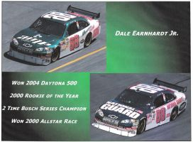 Dale Earnhardt Jr. by neonrevolations