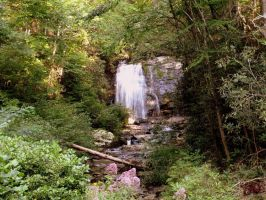 Smoky Mountains Waterfall by jvcustoms