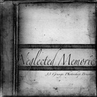 Neglected Memories Grunge Brushes by AsunderDigital