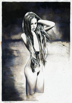 Nude No.8 (SOLD) by dimitriskoskinas