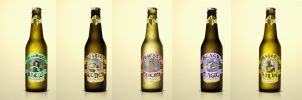 Dungeons and Dragons Beer Labels by HauntedHouse667