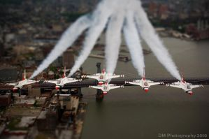 Tilt-Shift - Thunderbirds by dylanmeadows