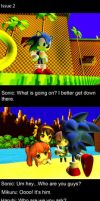 Sonic The Hedgehog Cross Haruhi Suzumiya Issue Two by shadow759
