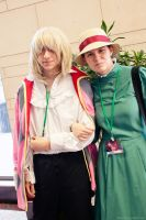 Howl and Sophie @ San Japan 6 by akaolive