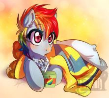 Filly Dashie by Tartii