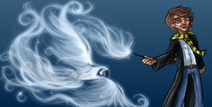 Expecto Patronum by drewsefske