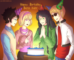 HS - HBD Beta Kids by feshnie