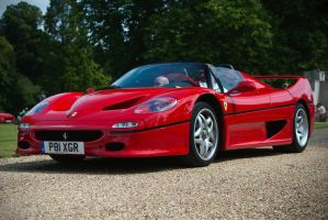 Ferrari F50, red by FurLined