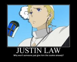 Justin Law Poster by Crazii4Anime