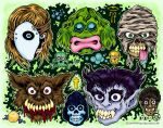 Monster Returns In Full Color by MonsterInk
