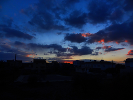 Cloudy Sunset in Cyprus -6- by IoannisCleary