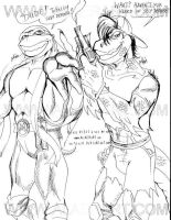 Mikey and Mondo Gecko by alaer